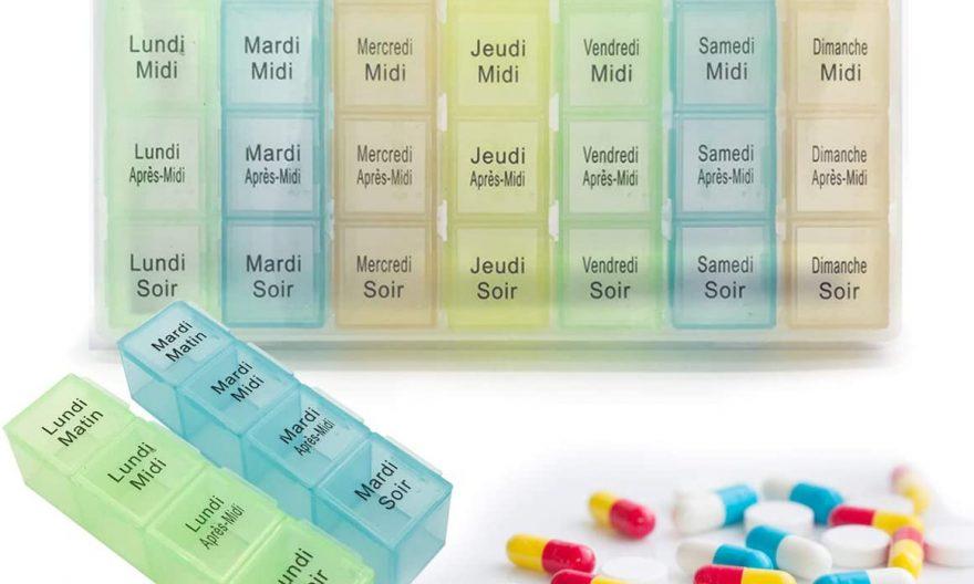Pilulier au format semaine